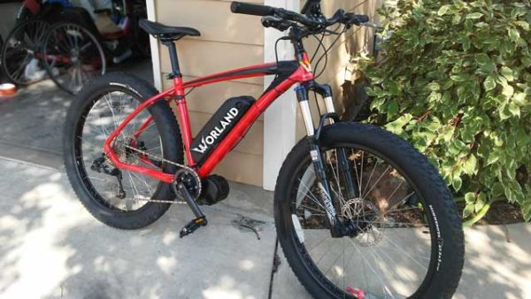 "Shop 3"" Fat Tire Electric Mountain Bike"