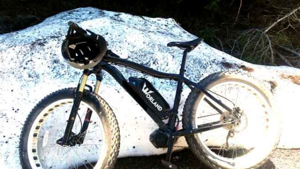 Fat Tire Electric Bicycle Worland Stallion Snow Bike