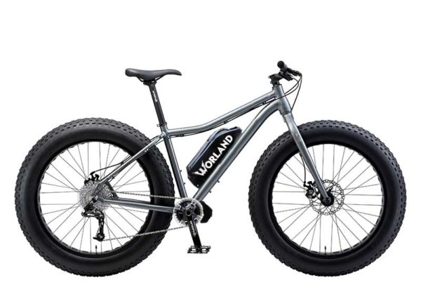 "Shop Electric Bicycles -Worland Maverick 5"" Fat Tire Electric Bike 1000W"
